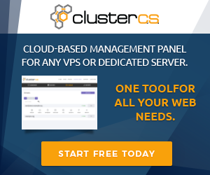 ClusterCS - Control Panel for VPS and Dedicated Servers